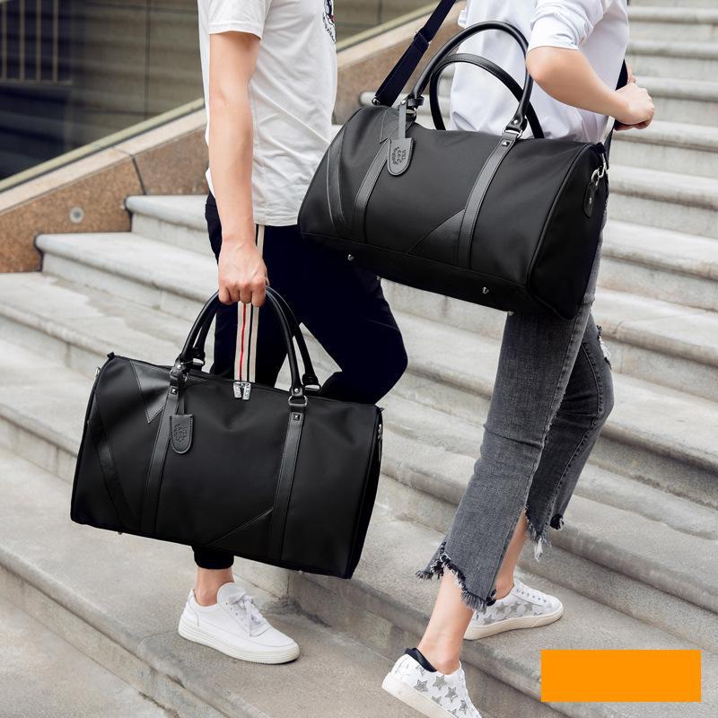 355e07b7a 2019 New Casual Waterproof Nylon Men Travel Bags Overnight Duffel Bag  Weekend Travel Large Tote Crossbody Travel Bags Wholesale Duffle Bags For  Men ...