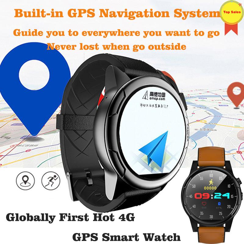 661e8800f New android 7.1 Smart watch GPS MTK6739 3GB+32GB smartwatch 4G watch 2MP  camera big battery WIFI business wristwatch pk kw88 I8