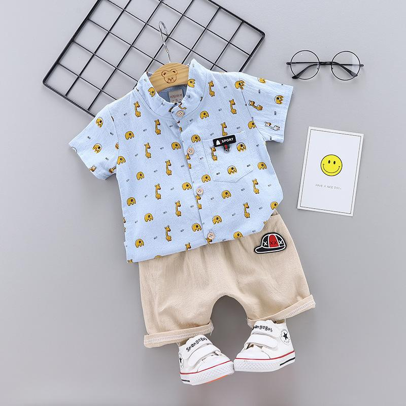 a3bae672f0 2019 Summer Children Baby Boys Girls Cotton Clothes Kids Cartoon T Shirt  Shorts /Sets Toddler Fashion Clothing Infant Tracksuits From  Shanghaiyuhong005, ...