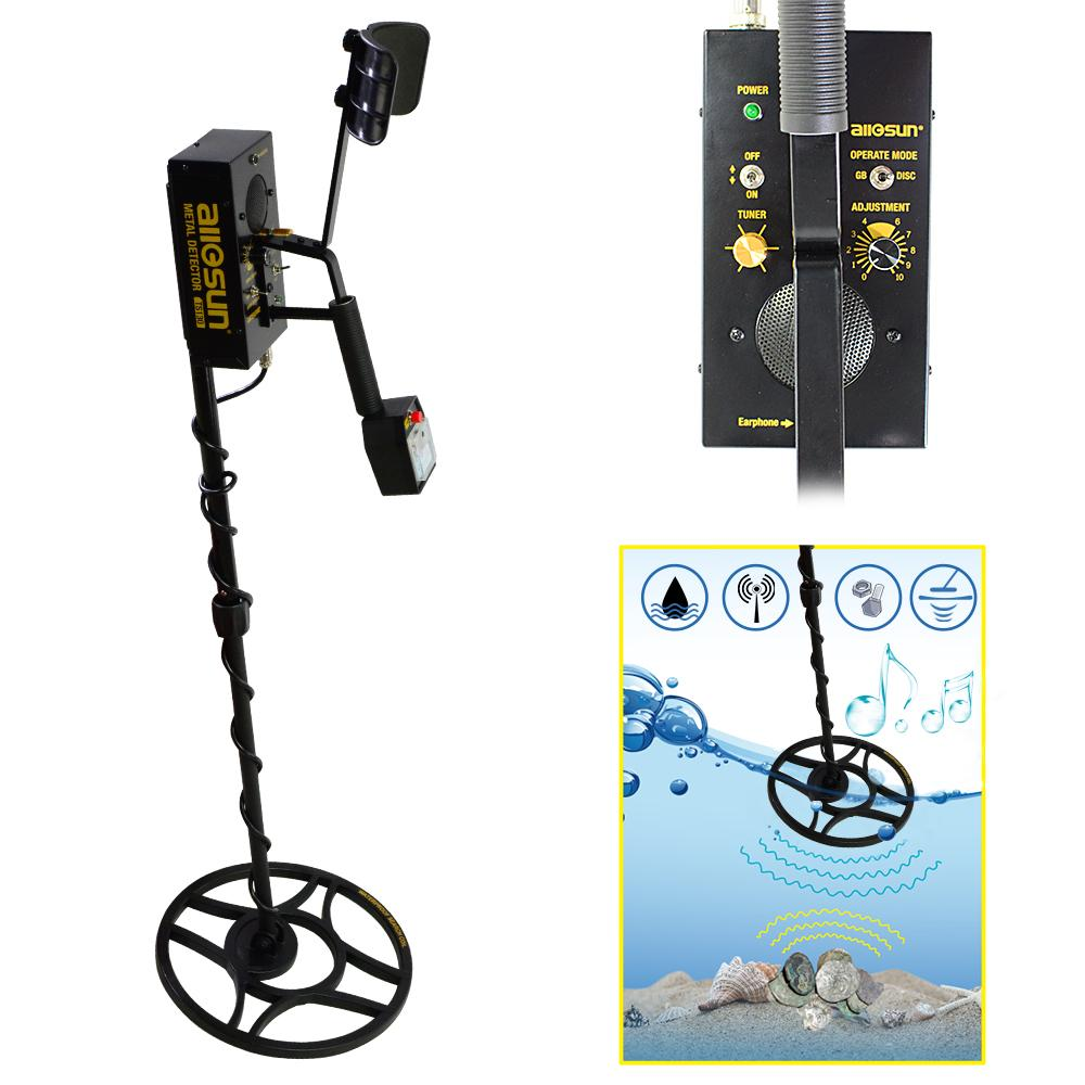 TS130 Metal Detector Underground Gold Digger Treasure Hunter Search detecting instrument for archaeological treasure revealer of underground
