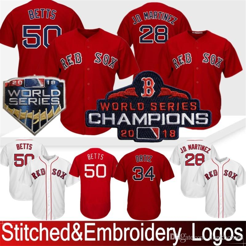the best attitude 92ca2 bc861 50 Mookie Betts Boston Red Sox Baseball Jersey 41 Chris Sale 16 Andrew  Benintendi 15 Dustin Pedroia 9 Ted Williams 28 JD Martinez Stitched