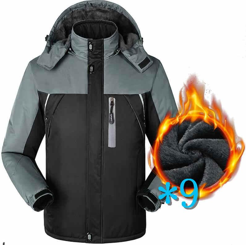 North MensDown Jackets Hooded Winter Brand Jackets For Mens Down Coats With Letters Hooded Men Warm Thick Coat Parkas Clothing*9