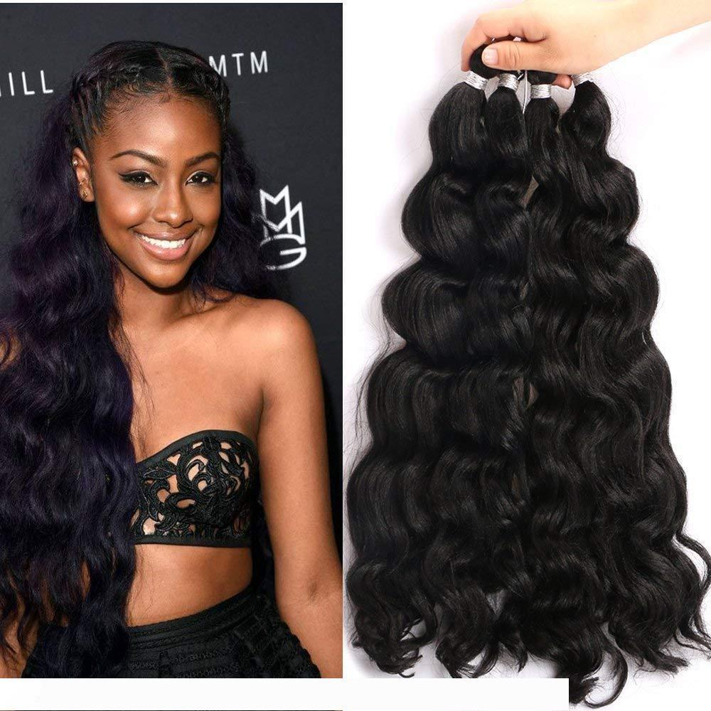 2020 A Kinky Curl Synthetic Braiding Hair 1 Packs 18 Inch ...