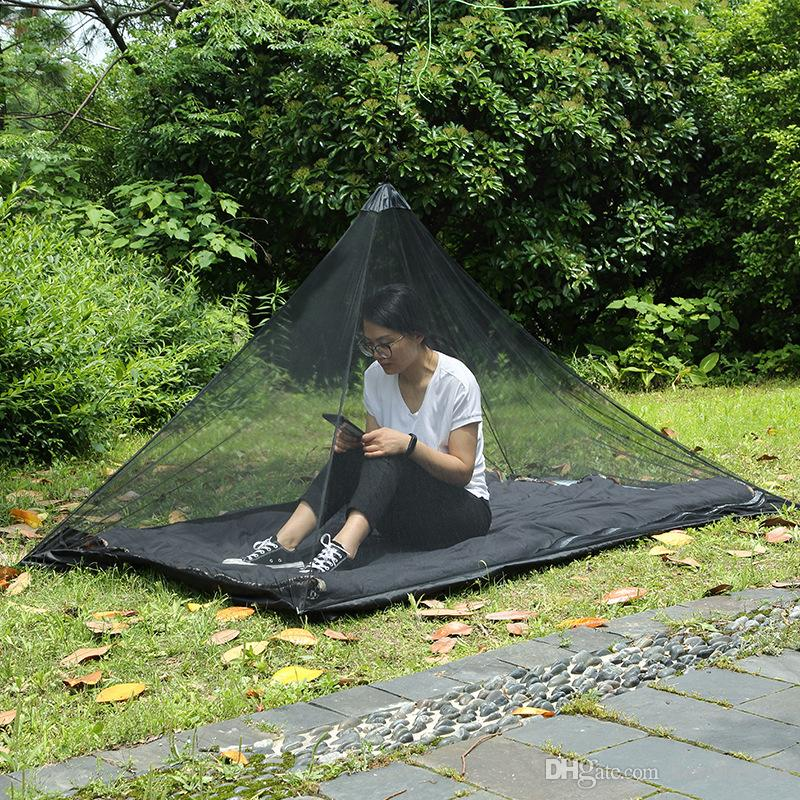 New Style 220*120cm Portable C&ing Tents Mosquito Proof Net Fishing Traveling Insect Prevention Hanging Tent Folding With Storage Bag Wenzel Tents Tent ... & New Style 220*120cm Portable Camping Tents Mosquito Proof Net ...