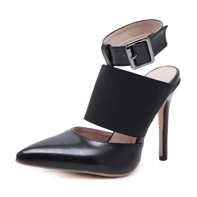 9c681b730 Compre Mulheres 12 Cm De Salto Alto Bombas De Moda Sexy Shoes 2018 Apontou  Moda Saltos Altos Stilettos Roman Sandálias De Salto Alto Mulheres De  Zehanshoes, ...