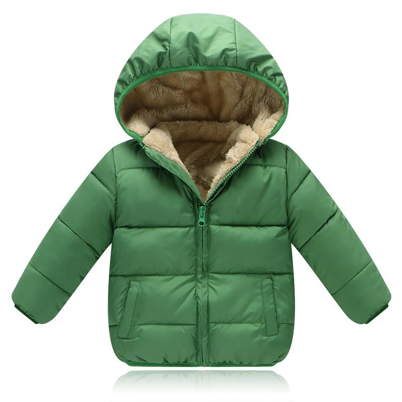 good quality 2019 Children Winter Down Jackets For Boys Outerwear Kids Outerwear Jackets For Girls Warm Hooded Coat Clothing Parkas