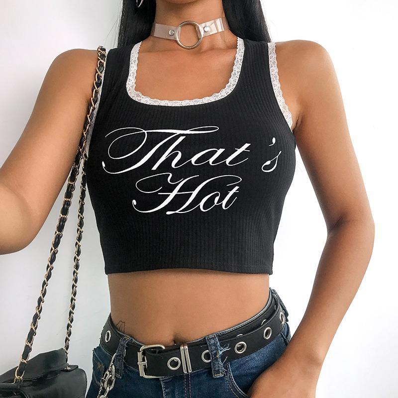 a22791b3e453b5 SUCHCUTE Lace Fashion T Shirt Women 2019 Summer Cotton Camo Cropped T Shirts  Cotton Letter Vest Vogue Streetwear Crop Top Design 1 T Shirt Good T Shirt  ...
