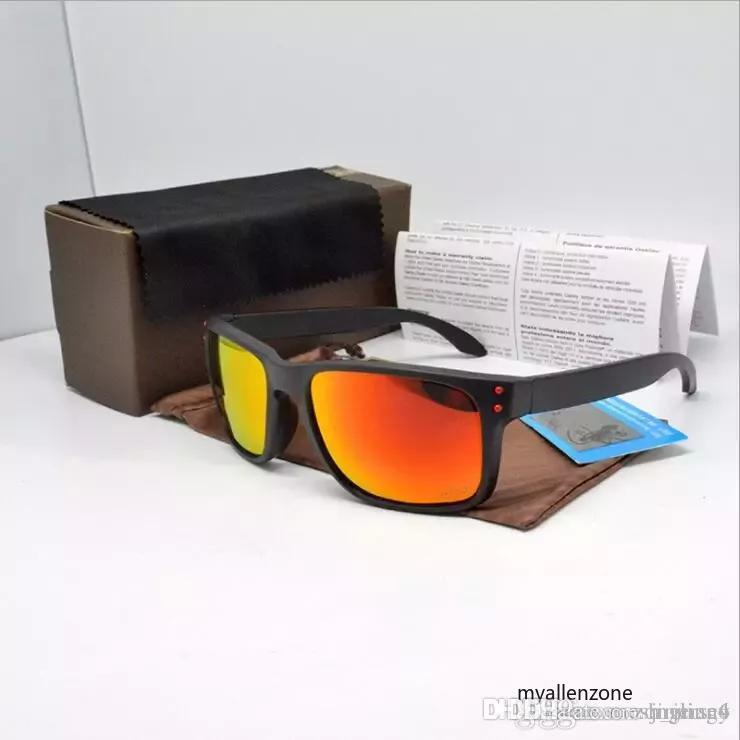 02c9352e388 2019 New Holbrook Sunglasses Men Women Fashion Brand Summer Shade UV400  Protection Cycling Outdoor Sports Bicycle Sun Glasses With Cases 01 From  Jinnian6