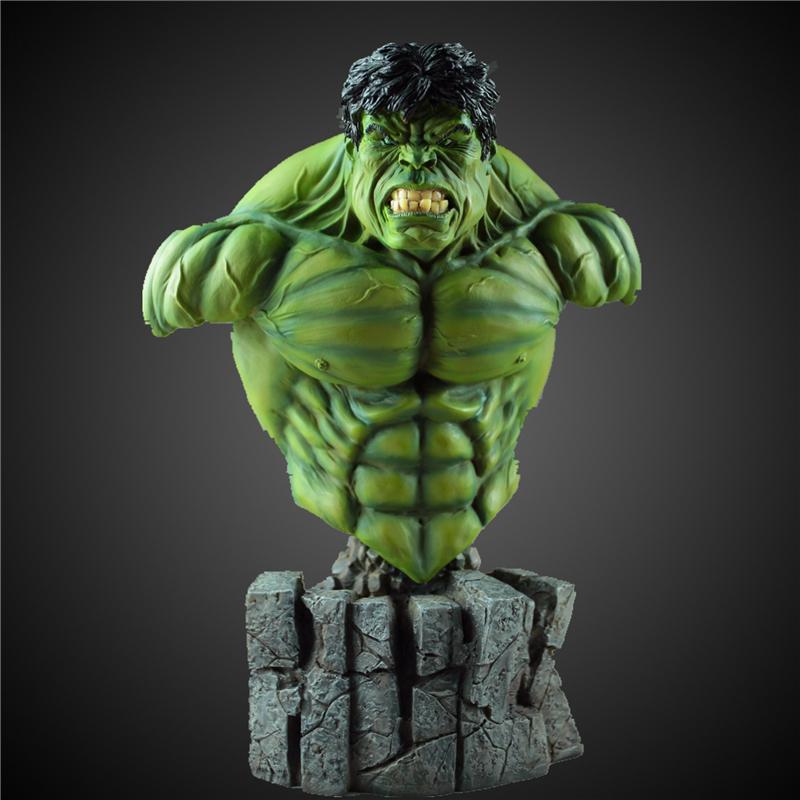 Satın Al üst 30 Cm 14 Avengers Kahramanlar Hulk Boyama Reçine
