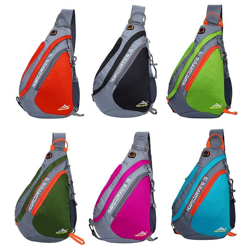 1pc New Sling Backpack Chest Bag Shoulder Pack Outdoor Lightweight Crossbody Daypack hiking cycling Outdoor Bags #3n19