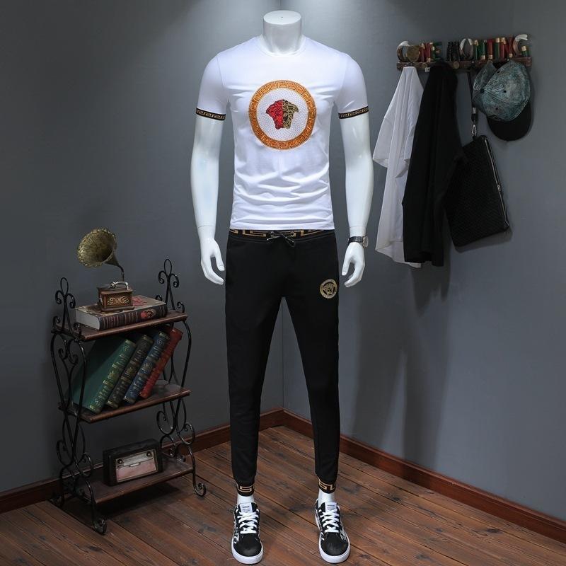 8f445e06b 2019 Summer New Fashion Mens Sportswear Short Sleeves T Shirts And ...