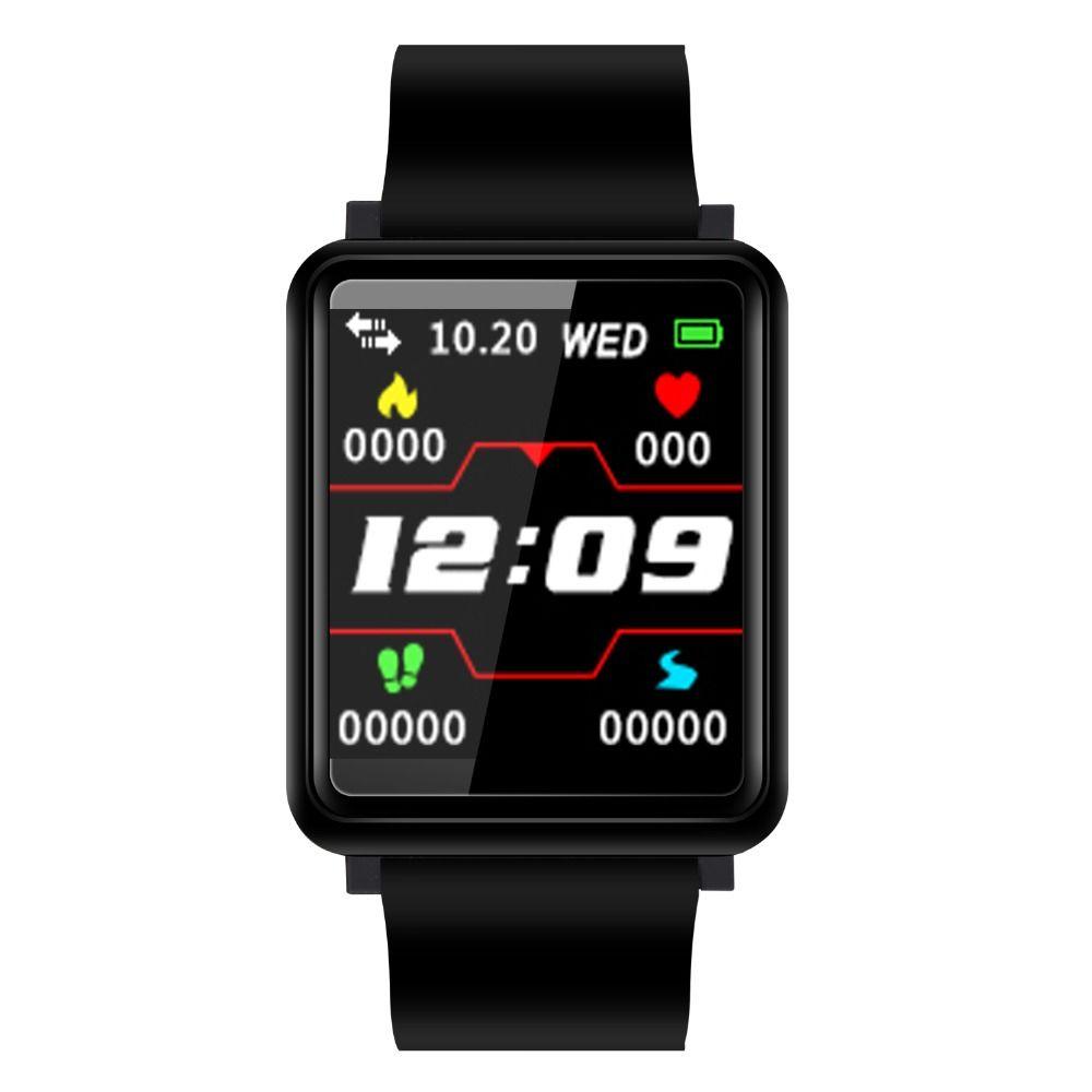 Uhren Herrenuhren 2019 Smart Uhr Männer Fitness Tracker Bluetooth Herz Rate Frauen Sport Uhren Für Männer Mode Frauen Armband Ios Android Saat
