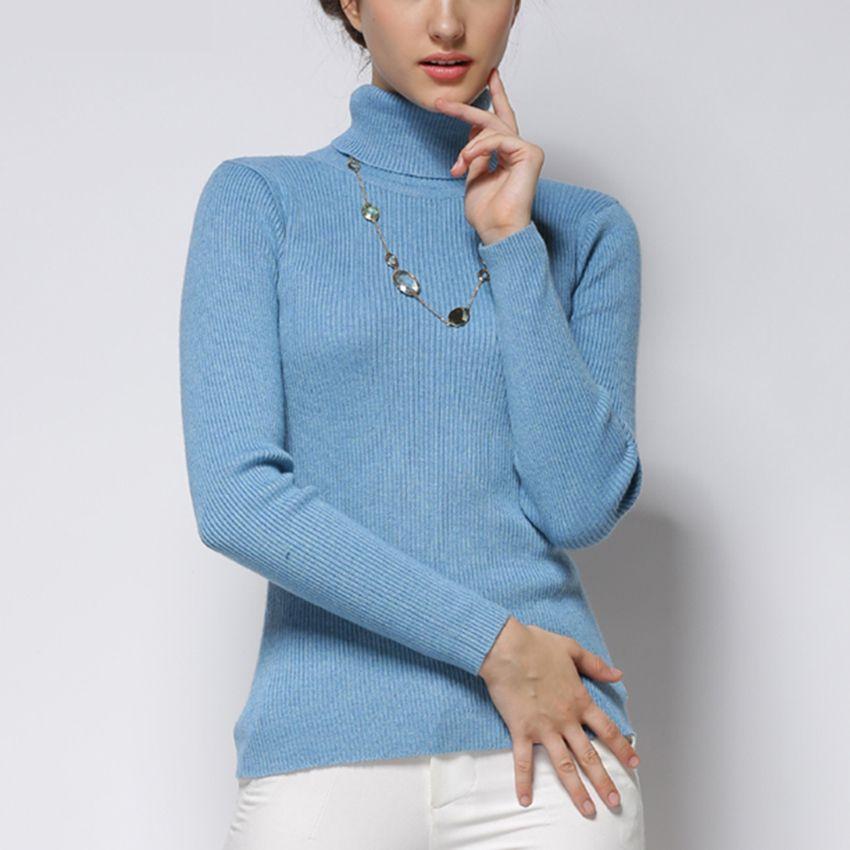 info for 4aa9b f3385 Maglione donna Maglia in misto cachemire Maglioni 28 colori Pullover donna  Dolcevita Gilet in lana Abiti standard Bambina Top S118