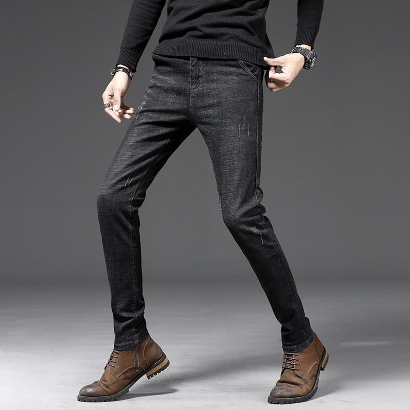 37bd611ac6 2019 New 2019 Black Jeans Mens Quality Skinny Jeans Mens Erkek Kot Pantolon Slim  Fit Vaqueros Hombre Denim Trousers Biker From Shoppingparty