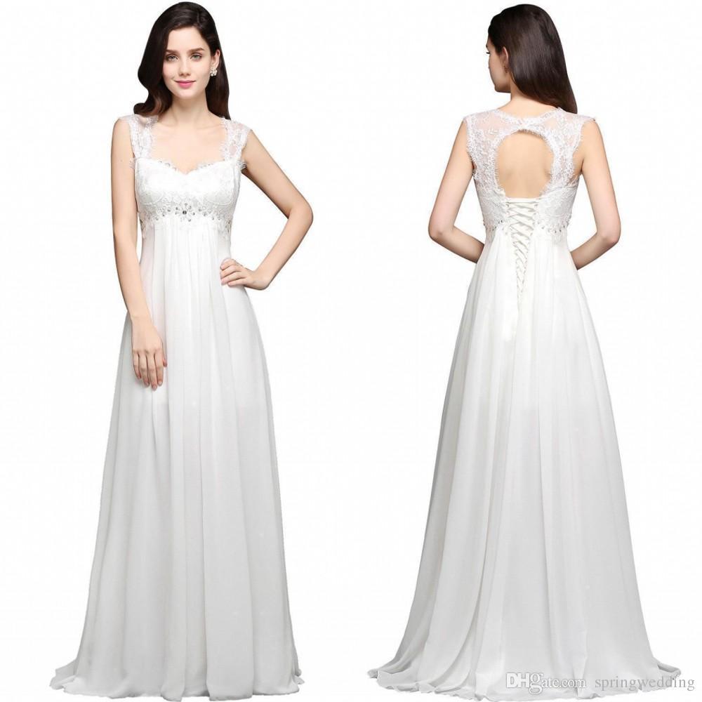 422b4d7dfa6 Cheap Womens Casual Wedding Dresses Discount Wedding Dress Crystals Beading