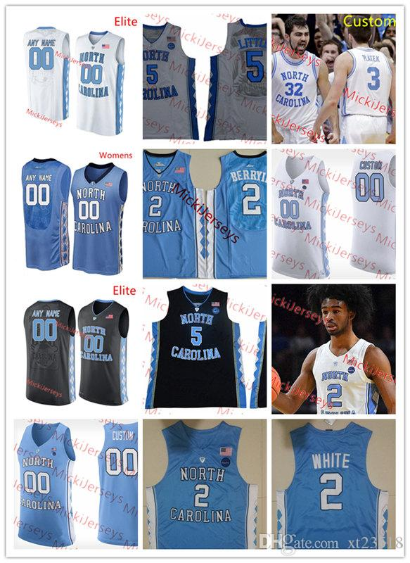 newest 34185 15c53 Custom NCAA NORTH CAROLINA TAR HEELS Basketball Jersey Seventh Woods Coby  White Nassir Little Kenny Williams Luke Maye NORTH CAROLINA Jersey