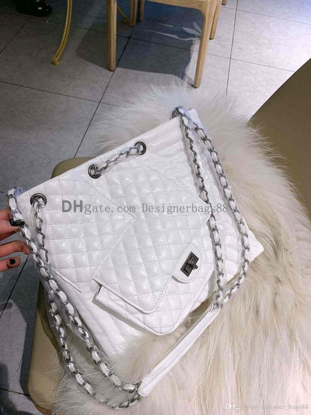 wholesale black whithe 2019 NEW style 9 women bags handbag Famous designer handbags Ladies handbag chain Fashion tote bag women's shop ba