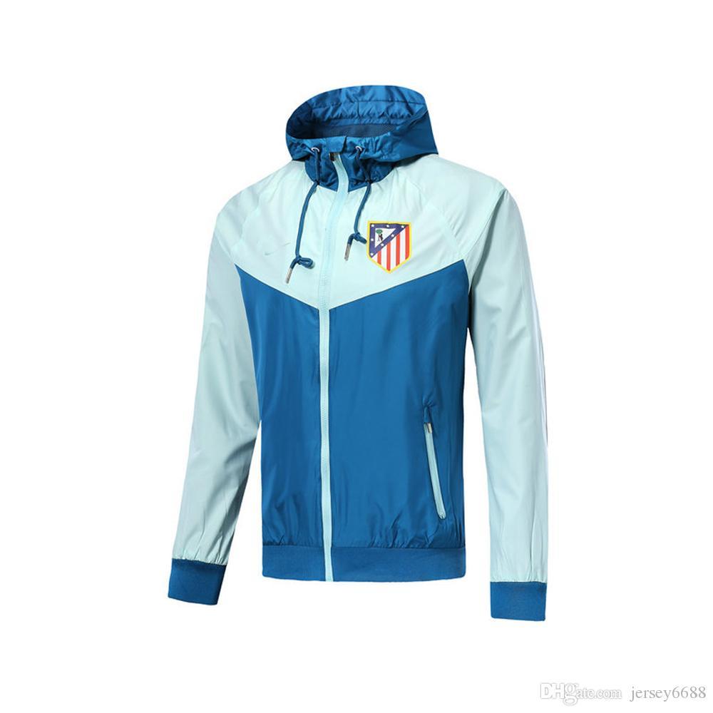 Compre 8 19 Atletico Madrid Chaqueta Con Capucha 2019 Costa ... 268a961194532