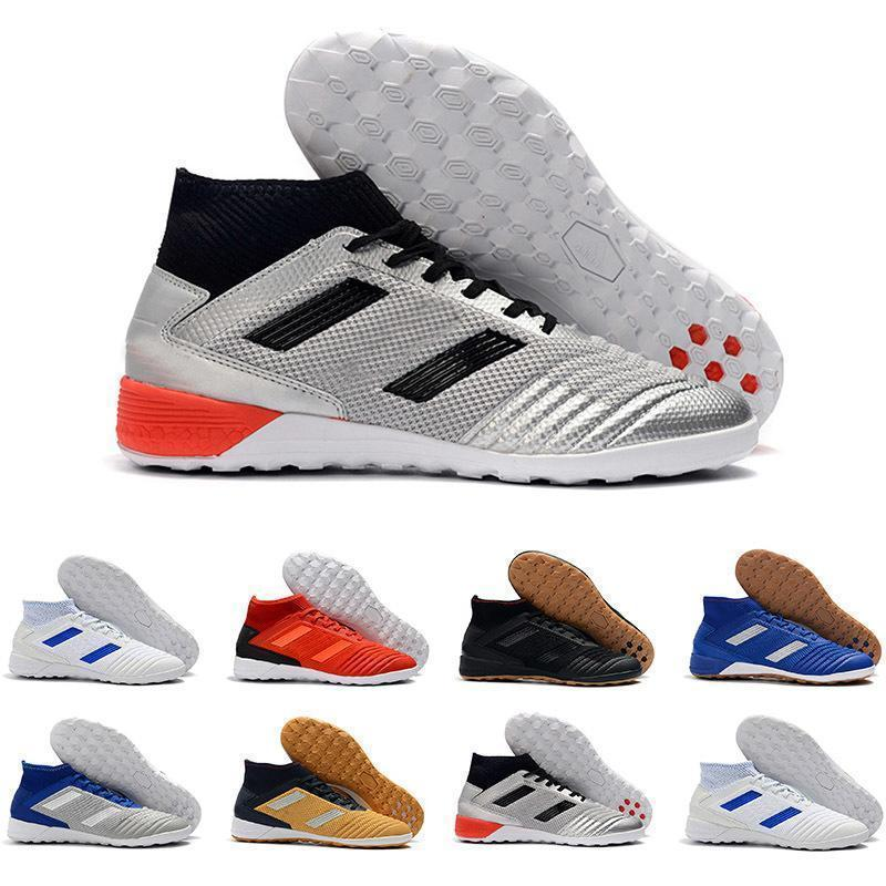 Soccer 2019 Cleats Mens Trainers Predator 18 Indoor Soccer Shoes Football Boots Predator Tango 18.3 Ic Tf Scarpe Da Calcio Sports Sneakers