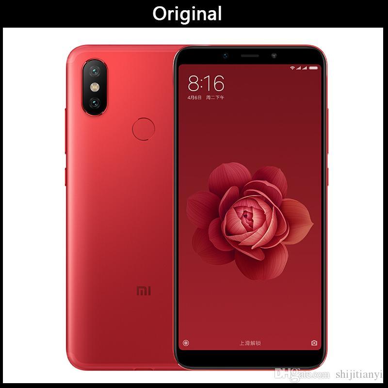 New Xiaomi Mi 6X 6GB 128GB ROM Smartphone 6 X Snapdragon 660 Octa Core 5 99  18:9 Full Screen 20MP AI Dual Camera 4G Dual SIM