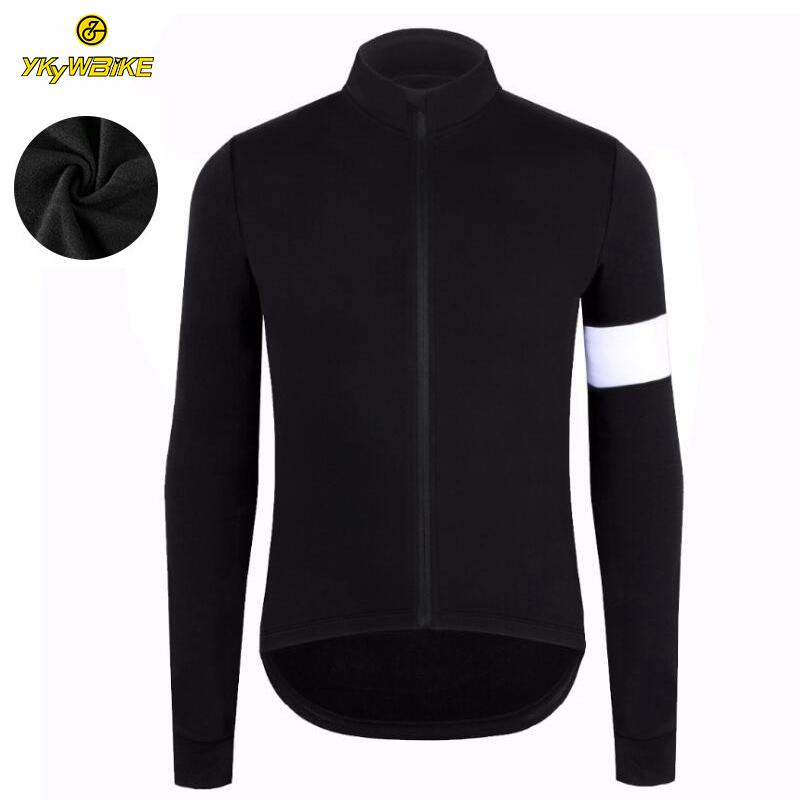 ... YKYWBIKE Thermal Fleece Winter Cycling Jersey Custom Long Sleeve High  Quality Bicycle Jacket Cycling Clothing Pro ... e030f4cb5
