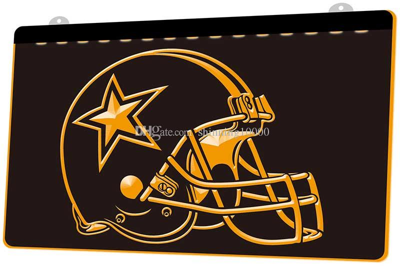 0f872f36 LS405-y-Dallas Cowboys Helmet Beer Bar 3D LED Neon Light Sign Customize on  Demand 8 colors to choose.jpg