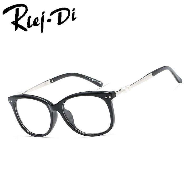 6482cc278b77 2019 FA203 Fashion Designer Clear Lens Vintage CatEye Glasses Frame Female  Hand Made Acetate Frames Eyewear Women Glass From Viulue