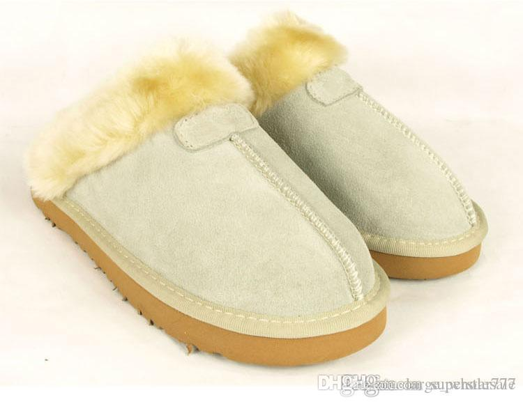 new style 295e0 898ea frauen Marke Booties warm Warme Baumwolle Hausschuhe Herren Damen  Hausschuhe Damen Stiefel Schneeschuhe Brand Designer Indoor Baumwolle
