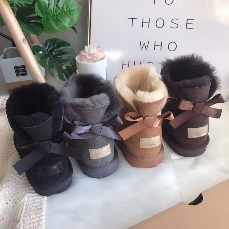 22837838700 3280 snow boots female Australia T0UGG fur one winter snow shoes short tube  winter new women's cotton shoes
