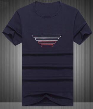 b966722f4 Hot Selling Milan Men Casual T-Shirts Summer Cotton Short Sleeve ...
