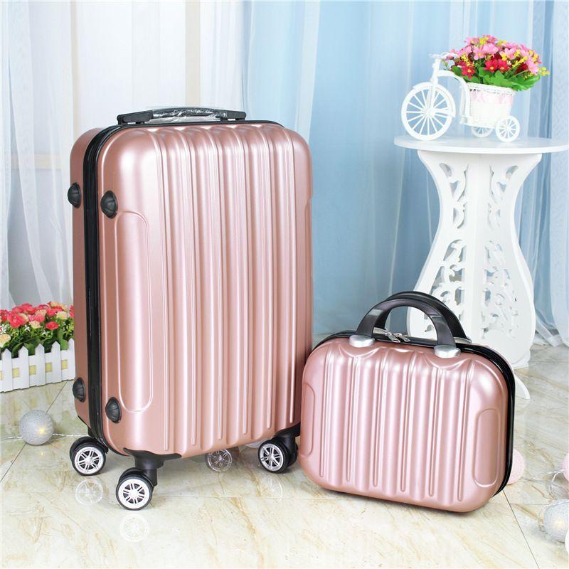 6aa6cc6d3a67a Satın Al 20 Inç İki Adet Bagaj Set, Evrensel Tekerlek Yatılı KUTUSU, Mini  Bavul, Güzel Gövde, Taşınabilir Tramvay Durumda, Moda Valiz, $117.97    DHgate.