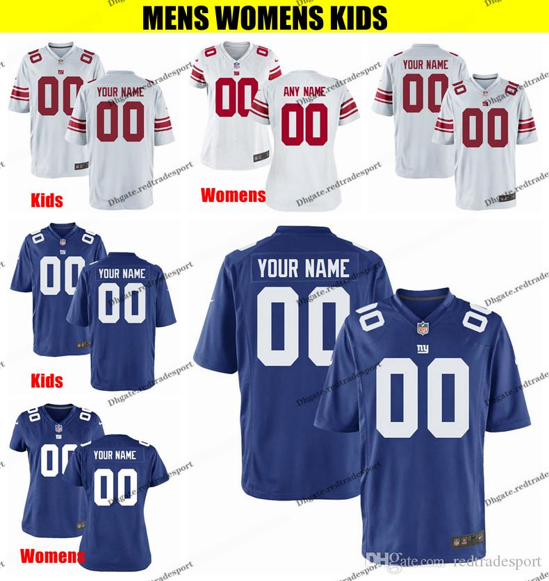 a6649b77e4e 2019 Customize New York Mens Womens Kids Giants Daniel Jones Dexter  Lawrence Deandre Baker 87 Shepard 56 Taylor 92 Strahan Engram Football  Jersey From ...