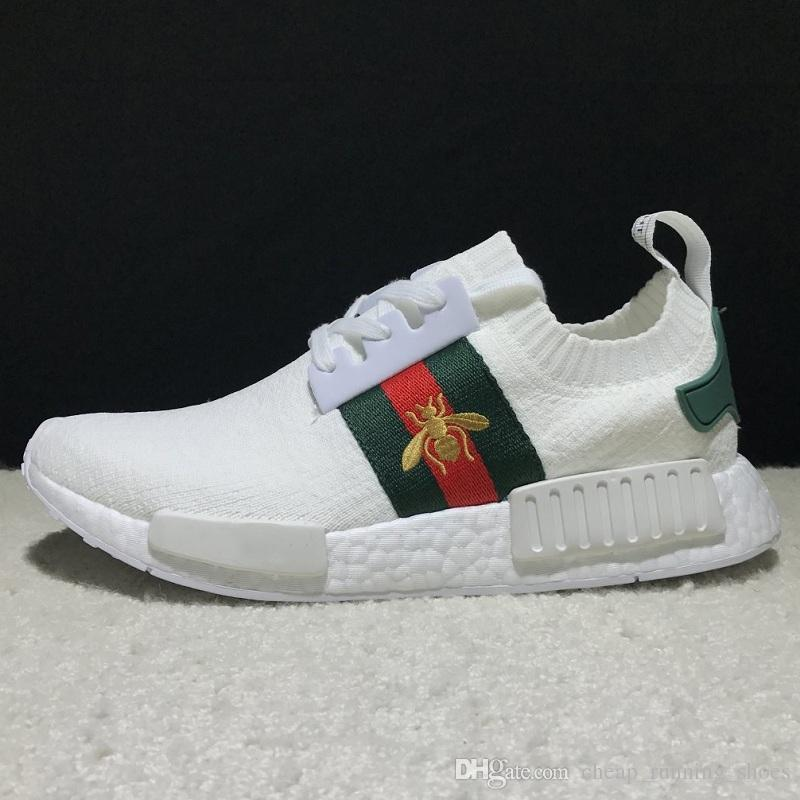 c0c076211f7a2 2019 Casual Shoes NMD R1 X Bees Shoes Ace Runner PK Primeknit OG Triple  Black White Men Women Brand Luxury Sneakers Breathable From Fsk xie01