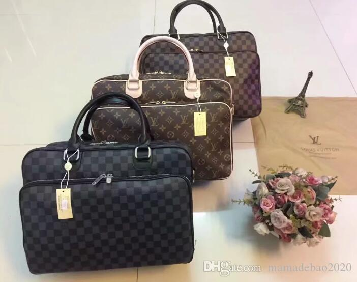 f0873e2034e 100% High Quality AJLOUIS VUITTON Laptop Bag Clutch Handbag Top Leather MICHAEL  25 KOR Briefcase Business Package Totes LOUIS M0LV GUCCI LOUIS CLUTCH ...