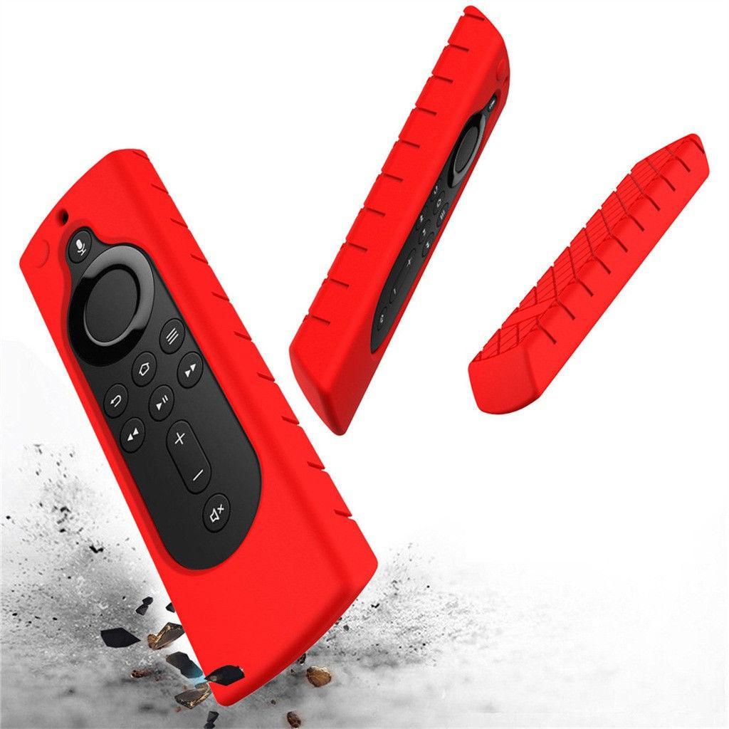 Yangın TV stick 4K / Yangın TV Küp / Yangın TV 3. Nesil Kapak Kayma Önleyici Şok Dayanıklı Kılıf Kapak Yeni Silikon Uzaktan Kumanda Kapaklar