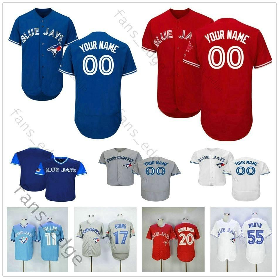 82ce29427e3 2019 Custom Stitched Blue Jays  31 Dave Winfield 12 Tulowitzki 55 Russell  Martin 2 Clayton Richard Men Women Kids Youth Baseball Jerseys From  Heimei shop