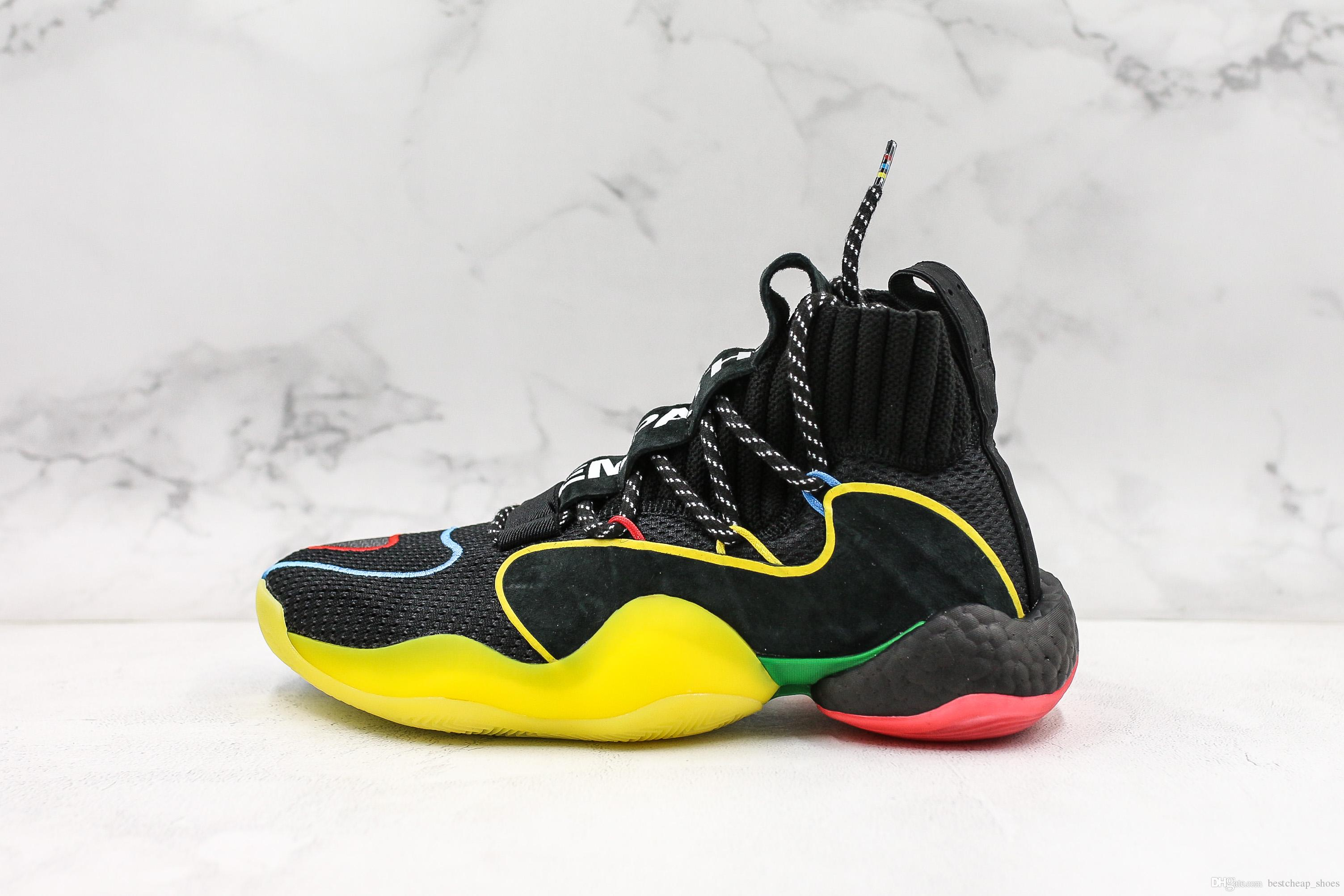 finest selection 9eadc a8fd9 2019 New Crazy Byw X Pharrell Williams Gratitude And Empathy Sock Mens  Basketball Shoes Designer Fly Men Trainer Tennis Sneakers Size 40 45 From  ...