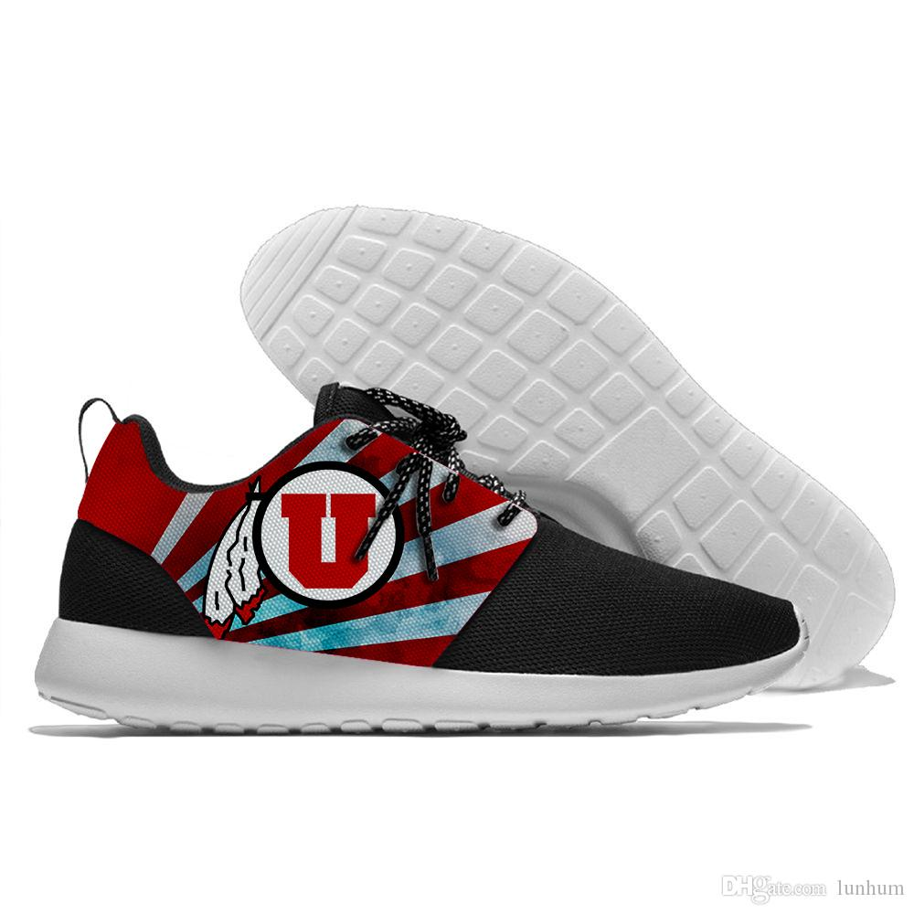 2019 2019 New Men And Women Utah Utes Sport Shoes Summer Running  Comfortable Running Shoes From Lunhum e44538616