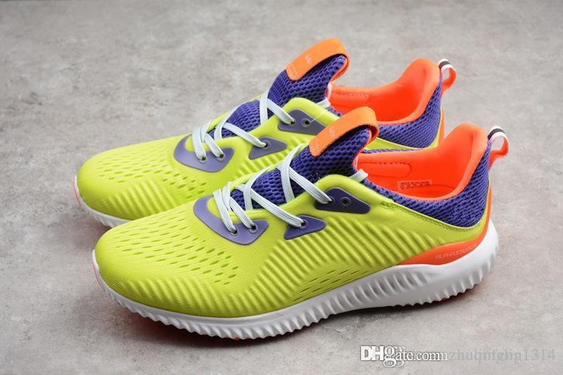2018 Kolor Alphabounce Beyond Boost 330 Run Shoes Alpha Bounce 3M Sports  Trainer Sneakers Man Shoes With Box Size 40 45 Green Shoes Most Comfortable  Shoes ... a4fbb88fe