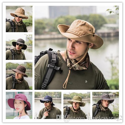 New Men Folding Bucket Hat Quick Dry Lady Beach Hats High Quality Wide Brim  Hats Sun Hats Alpine Hat Unisex Cap Fedora Hats Visor Hats From  Timelesszeng2 cc15328423c