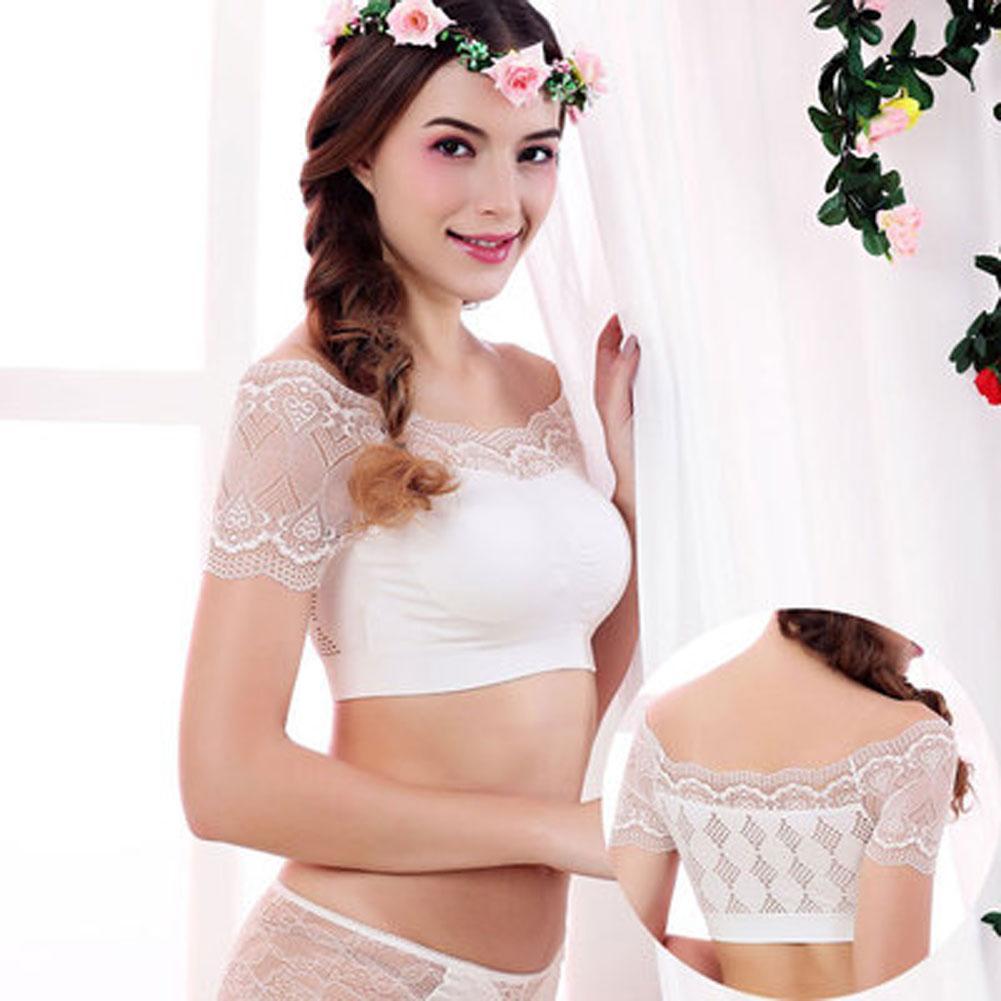 Femmes Sexy Casual Slim Débardeur sans manches Cami Tops femme Crop Off épaule Lace Up Fitness Vest