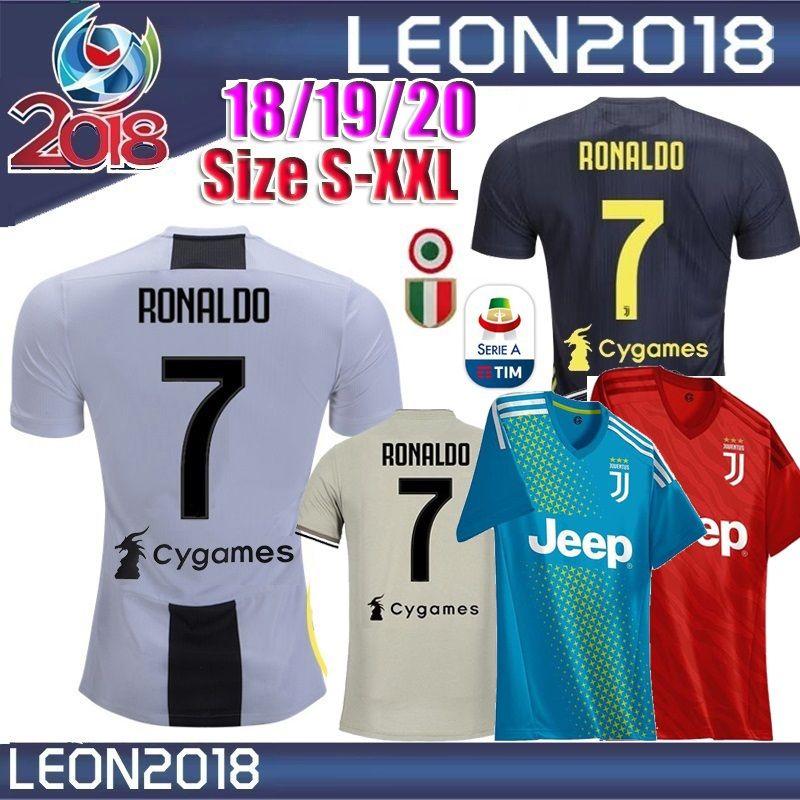 8bedcd85a9 Compre Fã Jogador 2018 2019 Juventus Camisola De Futebol 18 19 20 ...