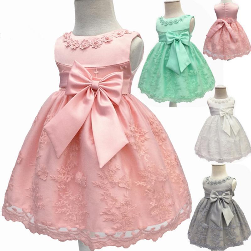 9e23957c 2019 Lace BOW Formal Evening Wedding Gown Tutu Princess Dress Flower ...