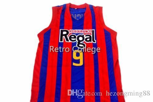 sports shoes 8c8c1 8e6d8 2019 nuevo de alta calidad Ricky Rubio Jersey FC Barcelona Regal Espani  Mens Basketball Jersey Custom cualquier nombre y número