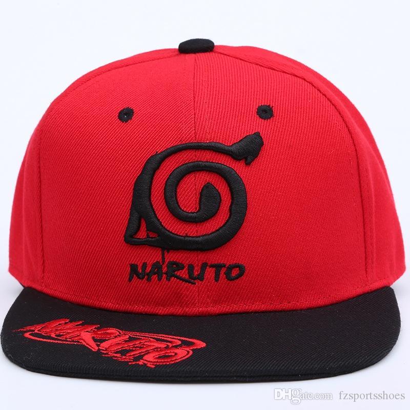 1728eef970709 Compre 2017 Nuevos Amantes Del Anime Naruto Gorra De Béisbol Del Bordado Al  Aire Libre Bordado Gorra De Béisbol Pueblo Hojas Sombreros Para Hombres  Mujeres ...