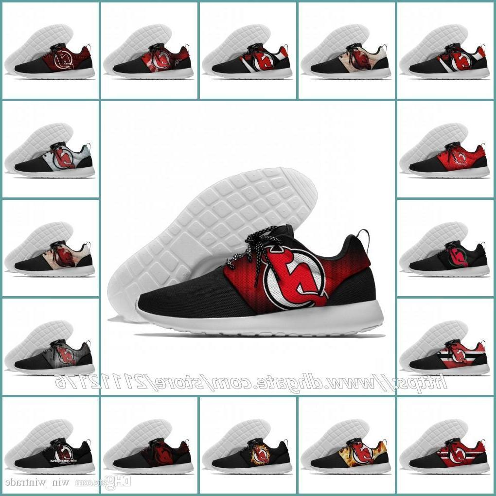 36-45 Mens Womens New Jersey Devils Designer Lundon Olympic Mesh Lightweight Trainer Nationals Sports Running Shoes Outdoor Sneakers