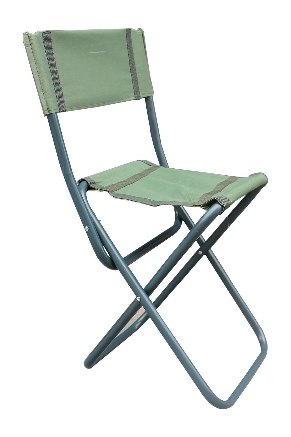 Teknor Mounted Folding Picnic Lawn Chair Camp Stool