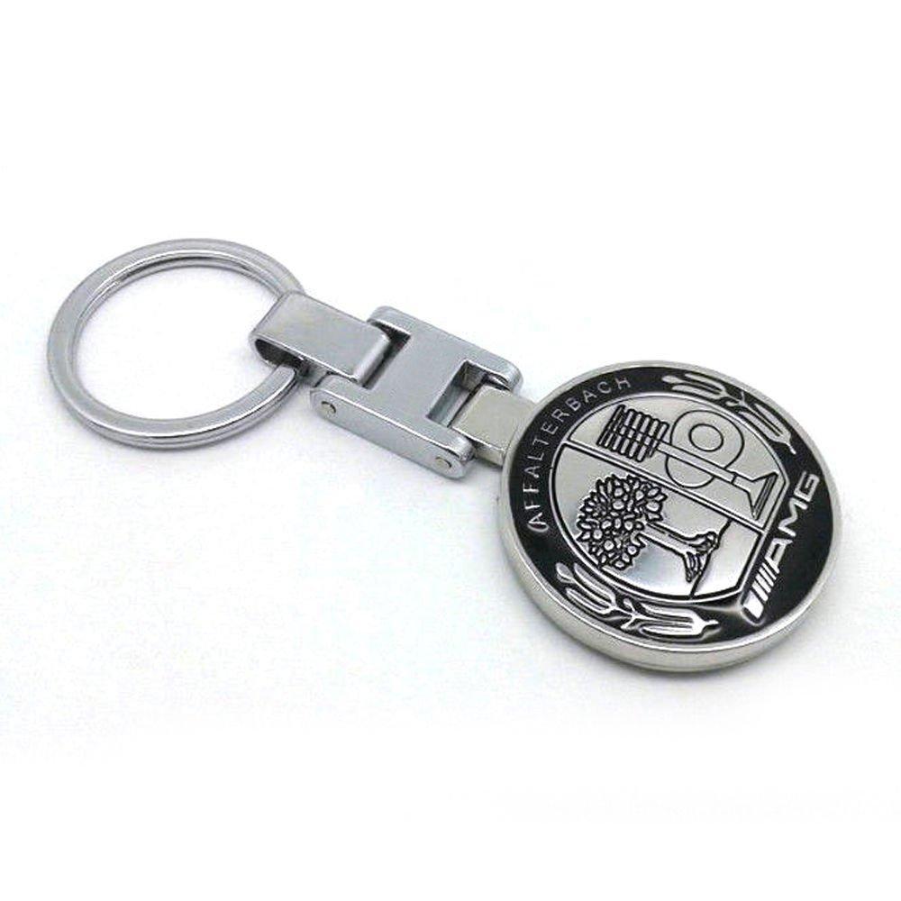42ad7236fe79 Metal Mercedes Benz AMG Keychain Creative Accessories Auto Parts SUV Car  Keyring YSS 0545 Leather Key Fob Keychain Wallet From Ericgordon