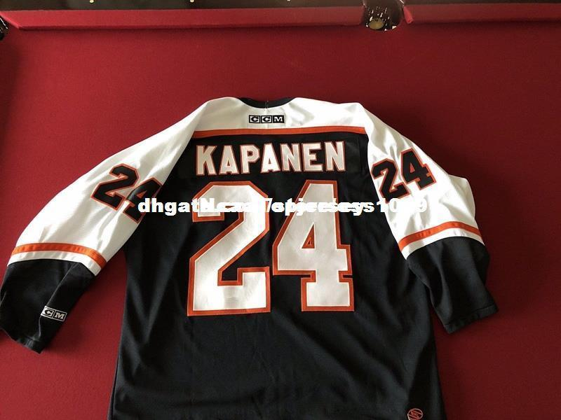Cheap Custom Kapanen  24 PHILADEPHIA FLYERS JERSEY Mens Personalized  Stitching Jerseys Retro Hockey Jersey Cheap Hockey Jersey Wholesale Hockey  Jersey ... 2357c8693