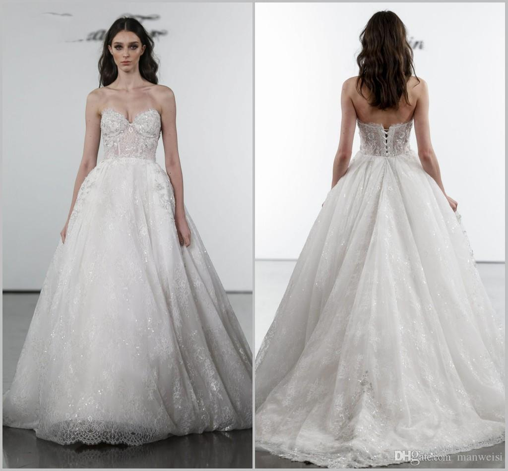 Pnina Tornai 2019 Wedding Dresses: Discount 2019 Pnina Tornai A Line Wedding Dresses